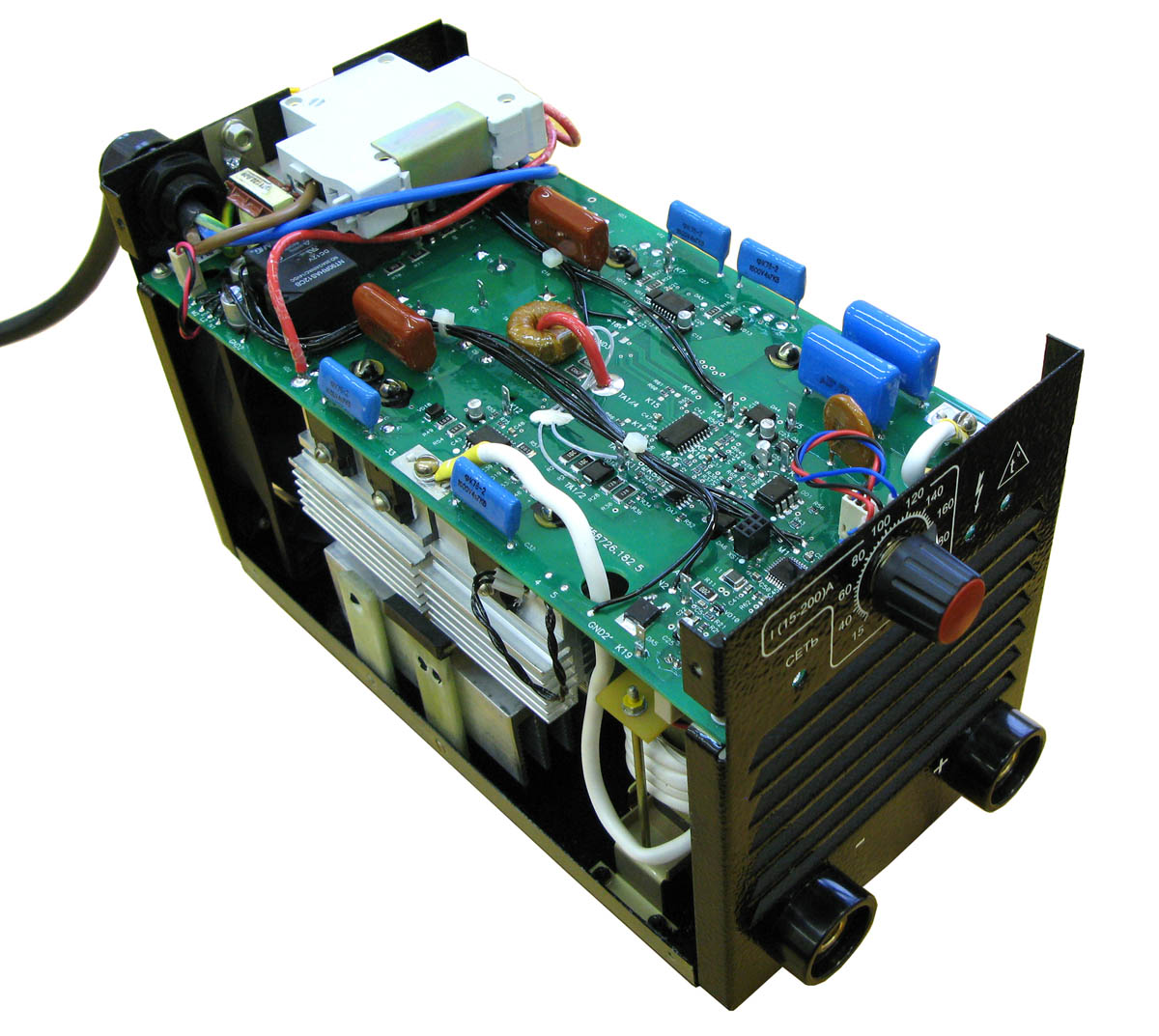 электронная схема сварочный инвертор саи 200