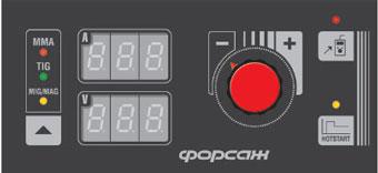 Базовая панель сварочного полуавтомата ФОРСАЖ-502